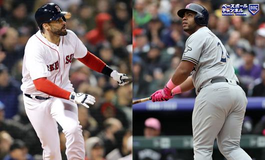 MLB前半戦、個人成績 アは最高勝率のRソックス勢強し、ナは新鋭&若手が ...